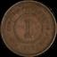 thumbnail 2 - Straits Settlements 1888 1 Cent KM #16 Fine