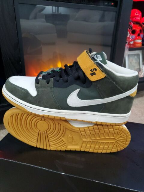 Nike SB Dunk Mid Pro Green - 314383-311