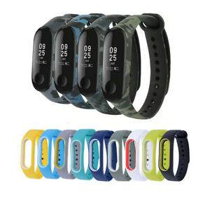 For Xiaomi Mi Band 2 3 4 5 6 Strap Replacement Wrist Bracelet Sport  Watch Band