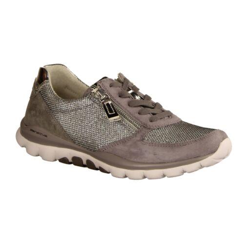 Altsilber//Donkey Sneaker Damenschuhe Gabor Comfort 26968-15 Rollingsoft