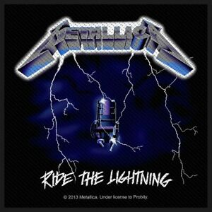 Metallica-Ride-The-Lightning-Patch-Official-Heavy-Metal-Band-Merch-New