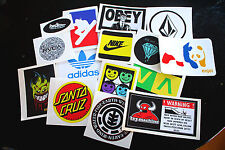 10 Assorted Skate/Ski/Snow Stickers! (Choose Your Own)