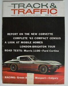 Canada-TRACK-amp-TRAFFIC-October-1962-New-CORVETTE-MOSPORT-GreenAcres