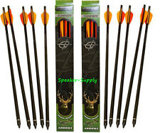 "22"" Carbon Crossbow Arrows Bolts Barnett Field Point 10 pack Ghost Buck Predator"