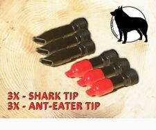 6X -ANT-EATER & SHARK TIP GROUTENATOR REPLACEMENT TIPS - Injection System TIPS