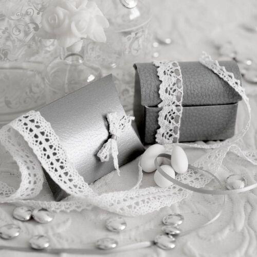 10M Cotton Lace Trim Ribbon Vintage ShabbyChic Craft Wedding Ribbon Ivory White