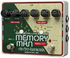 EHX Electro Harmonix 550TT Deluxe MEMORY MAN con Tap Tempo Guitarra Efectos Pedal