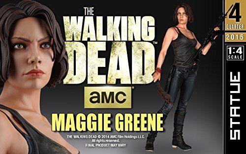 Gentle Giant Studios The Walking Dead  Maggie Estatua (escala 1 4) Nuevo en Caja Como Nuevo Muy difícil de encontrar