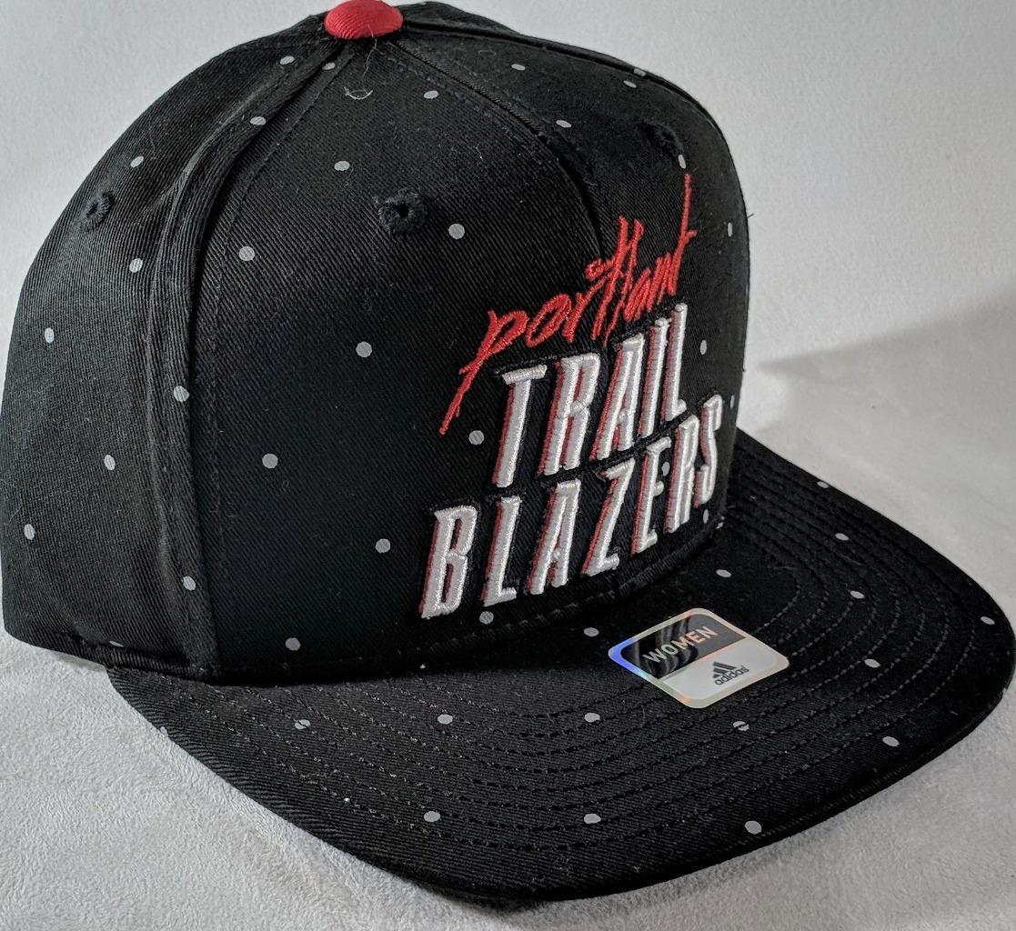 LZ Adidas One Size Portland Trail Blazers Gorra de béisbol de béisbol de la NBA NUEVO G4