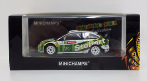 MINICHAMPS-VALENTINO-ROSSI-1-43-FORD-FOCUS-WRC-STOBART-WALES-RALLY-2008-1008-PZ