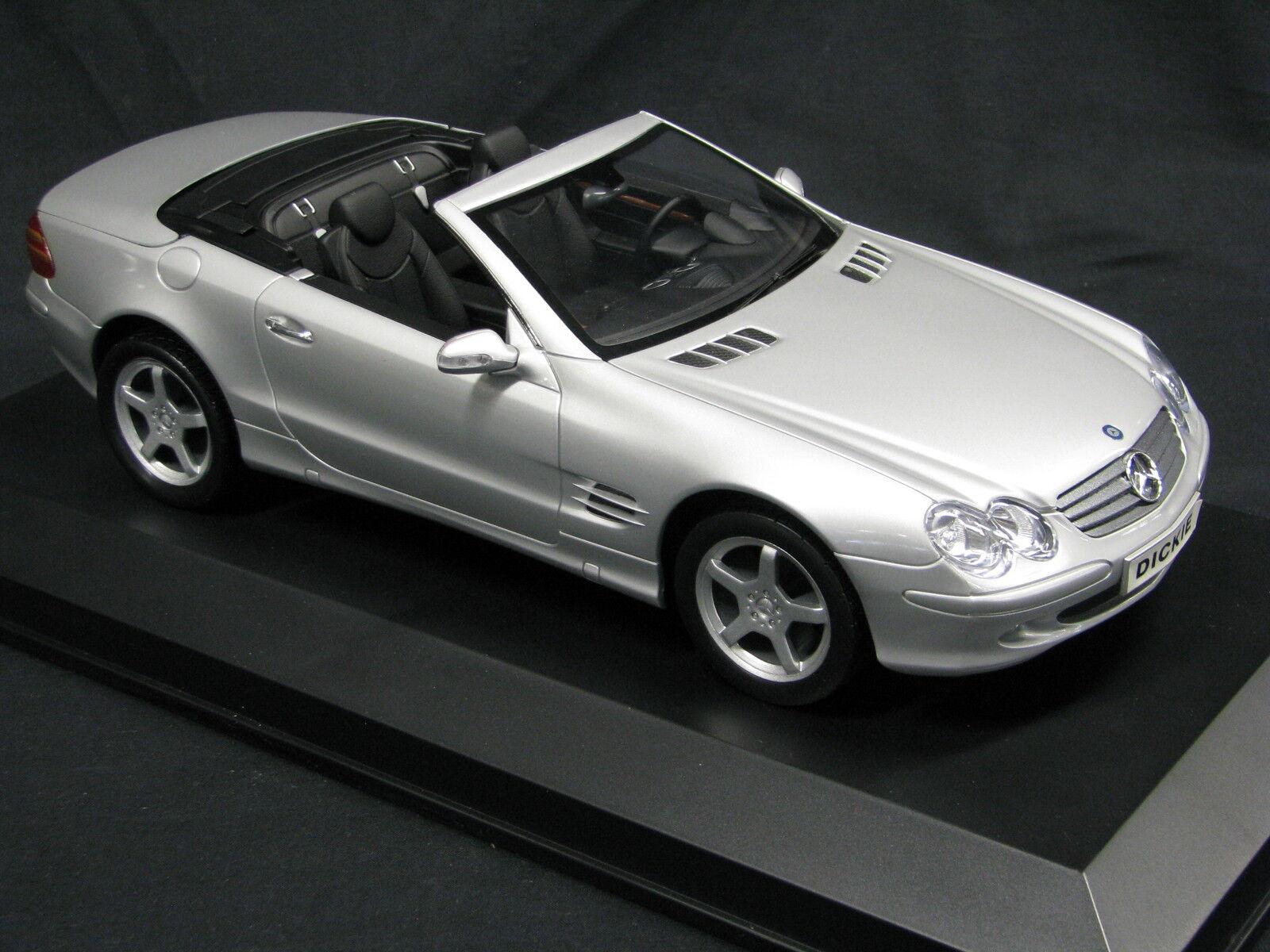 Dicky Mercedes SL converdeible 1  12 plata