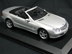 Dickie-Mercedes-Benz-SL-Cabriolet-1-12-Silver