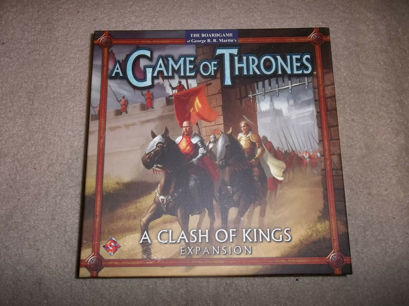 Fantasy Flight Games A Game of Thrones A Clash of Kings Expansion board game