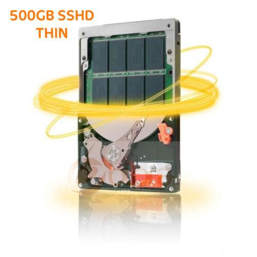 SEAGATE 500GB Laptop SSHD SATA 6GBs 64MB 7mm Internal Hybrid Hard Drive PS4 PS4