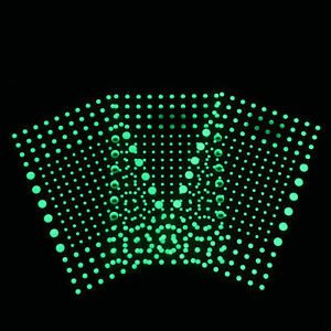 Blue for Starry Sky Realistic 3D Domed Glow in the Dark Stars,606 Dots 4//6//10mm