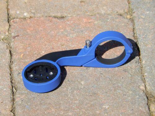 Out Front Aero Mount pour Garmin Edge Cycle GPS 200//500//510//520//800//810//820 Bleu