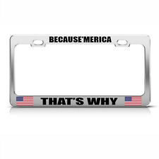 99/% Angel But Oh That 1/% Chome Metal License Plate Frame Tag Holder