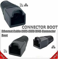 Ethernet RJ45 Cable Boots CAT5 CAT6 Connector Boot Plug Cover Cap (Pack 100 Nos)
