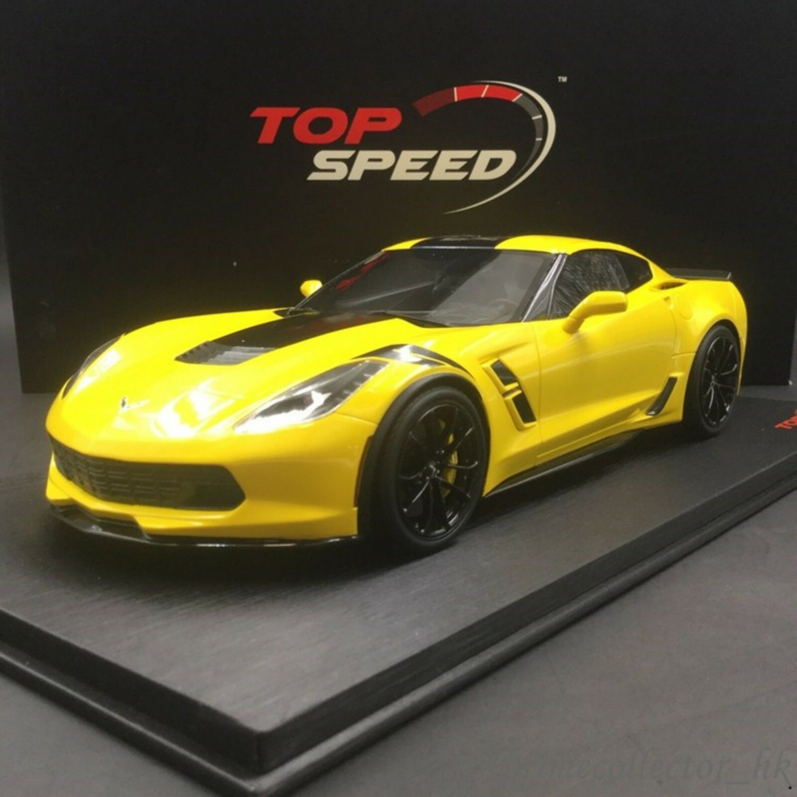 TOPSPEED  1 18 Chevrolet Corvette Grand Sport Corvette Racing giallo TS0119