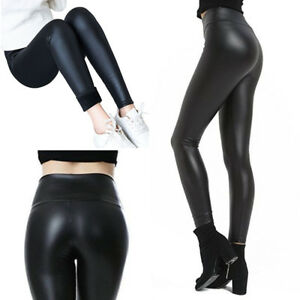 Kunstleder leggings