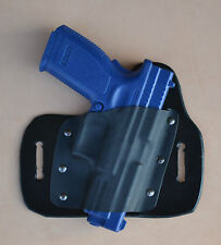 Leather/kydex hybrid OWB beltslide holster for Springfield Xdm 9mm/.40/.45