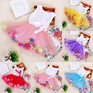 Toddler-Baby-Girls-Princess-Party-Tutu-Lace-Bow-Skirt-Kids-Flower-Dress-Sundress