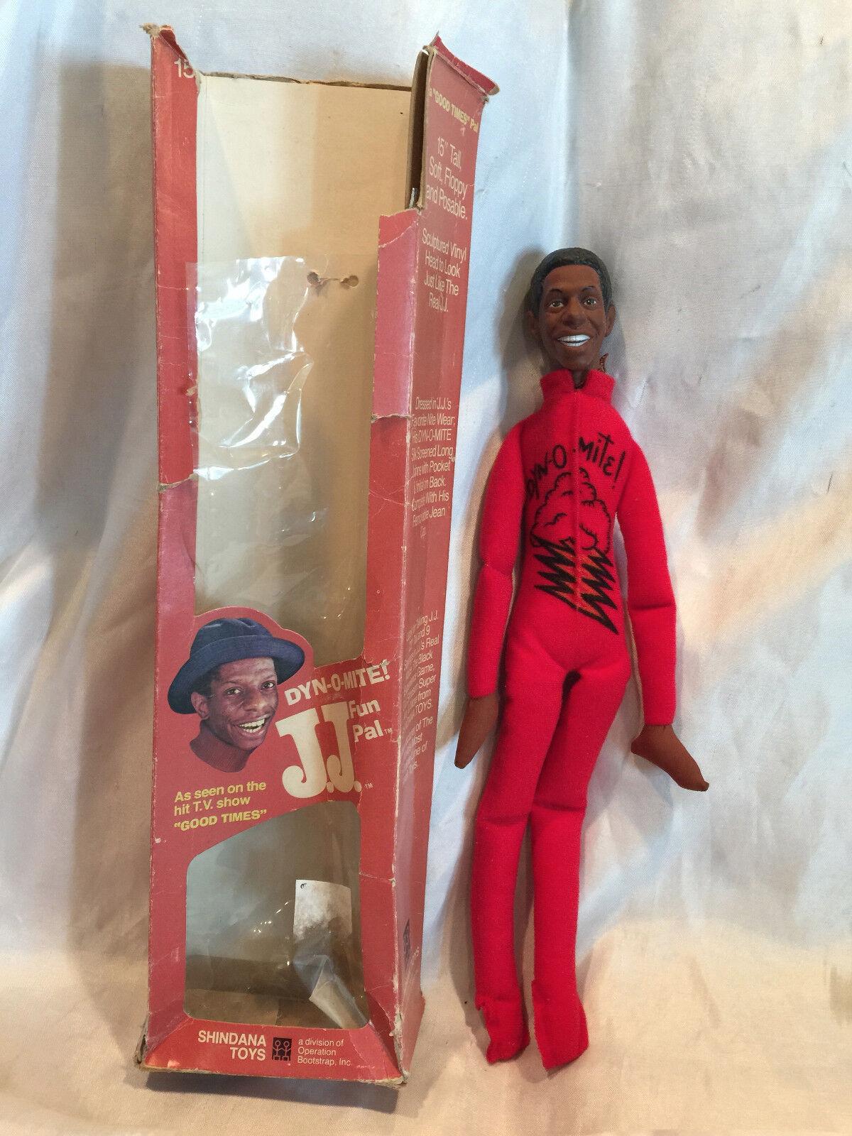 Collectible Vintage 1975 GOOD TIMES 15  DYNOMITE doll  Jimmy JJ WALKER w BOX