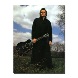 Johnny-Cash-Guitar-Music-Star-Art-Silk-Poster-13x18-24x32-inch