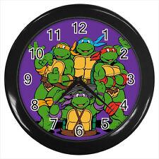 Teenage Mutant Ninja Turtles TNMT Comic Cartoon Film #D01 Wall Clock