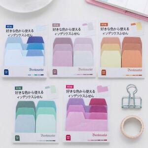 60Pcs-Sticky-Notes-Notebook-Memo-Pad-Bookmark-Paper-Sticker-School-Stationery