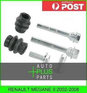 Fits-RENAULT-MEGANE-II-2002-2008-Brake-Caliper-Slide-Pin-Brakes-Rear
