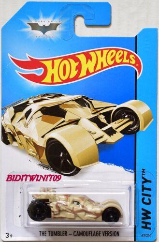 Batman il Bicchiere Hot Wheels 2014 Hw Città Mimetico Versione