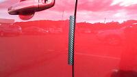 Carbon Fiber Auto Accessory Car Door Edge Paint Chip Guard Trim Fits Honda 2 Pk