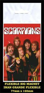 Scorpions-World-Wide-Live-FLEXIBLE-BIG-MAGNET-IMAN-GRANDE