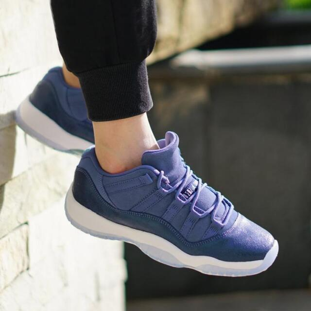 Nike Air Jordan 11 Retro Low GG Blue Moon Youth Size 4y 580521 408 for sale  online  421385f52