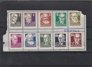 germany 1948 mounted mint  stamps ref 13303