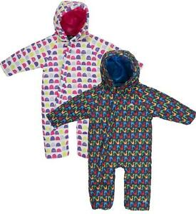 492821d0c2d5 Trespass Breezy Babies Snowsuit Girls Boys Insulated All-in-one 6 ...