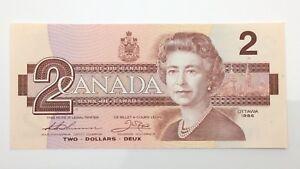1986-Canada-Two-2-Dollar-Prefix-BGU-Uncirculated-Canadian-Banknote-F358
