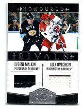 2010-11 Dominion Honoured Rivals Evgeni Malkin Alex Ovechkin #1 Dual Jerseys /49