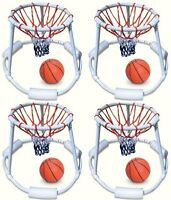 4) Swimline 9162 Swimming Pool Quality Floating Super Hoops Fun Basketball Games on sale