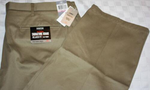 DOCKERS Signature Khaki Men/'s Pants D2 D3 D4 Pleated Flat NWT Assorted Styles