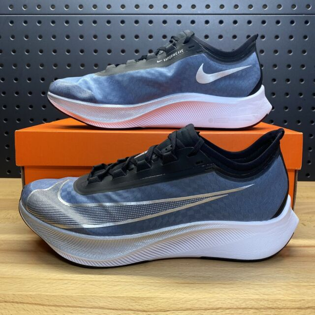 Nike Air Zoom Fly 3 Vaporweave Running Shoes Blue At8240 401 Men Size 12