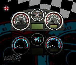 Range rover sport diesel speedo km h dial kit interior bulb lighting custom kit ebay for Range rover sport interior lighting