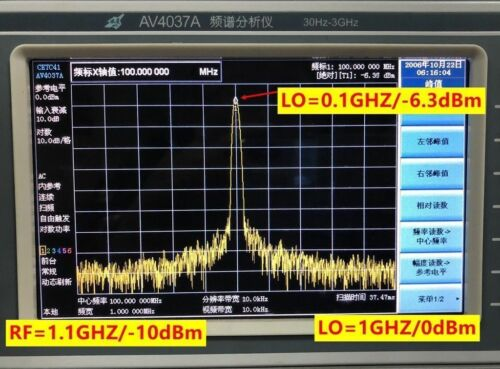 AD8342 LF to 3.8GHZ Active Mixer Downconversion Output with Balun Transform New