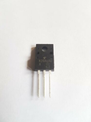 TK20A60U Marked K20A60U Toshiba Trans MOSFET N-CH 600V 20A 3-Pin TO-220F