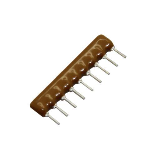 5x 4609X-101-332LF Widerstandsnetzwerk X 3,3kΩ Anz.Widerstand 8 THT 0,2W ±2/%