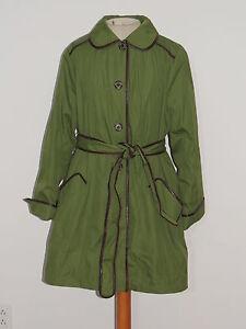 Dark Green Basso Nwot Coat Med Out W Jacket Lining Zip Sz Dennis 5EwqF5