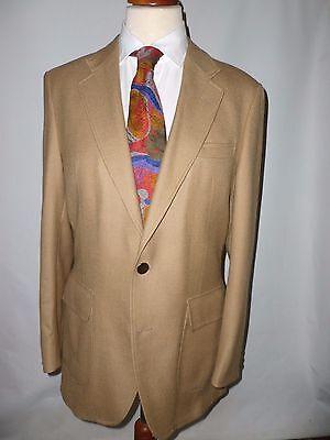 Vintage Sackville Austin Reed Camel Jacket Blazer Size Uk 40l British Made Ebay