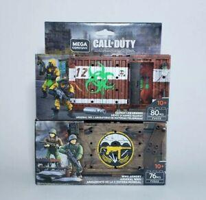 Mega-Construx-Call-Of-Duty-WW2-Armory-And-Hazmat-Lab-Armory
