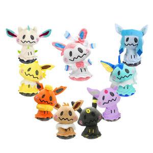 Pokemon-Center-Mimikyu-Cosplay-Flareon-Eevee-Sylveon-Plush-Doll-Toy-9-inch-Gift